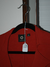 Clothing Tracking Hanger Tag