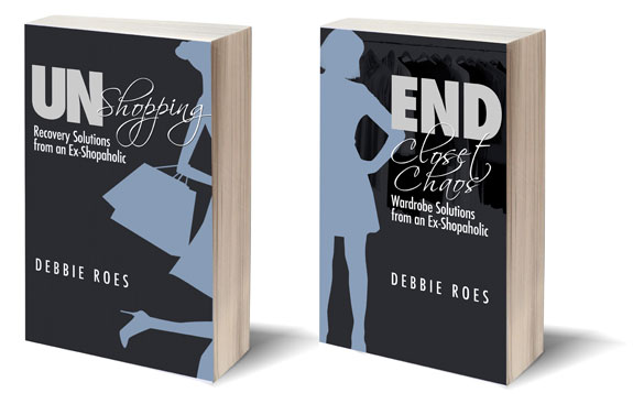 UnShopping and End Closet Chaos book covers